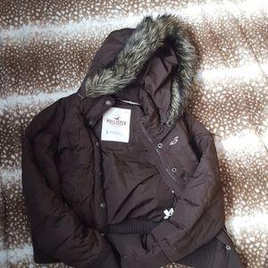 Hollister winter jacket juniors L
